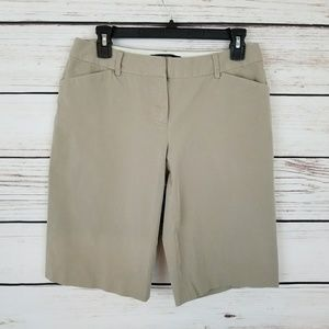 Body by Victoria The Christie Fit Khaki Shorts